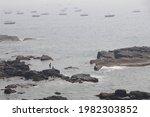 Beautiful Seascape With Rocks...