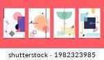 set of cover brochure minimal...   Shutterstock .eps vector #1982323985