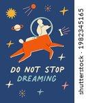 do not stopdreaming... | Shutterstock . vector #1982345165