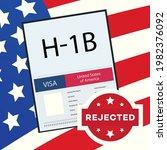 Rejected Visa Type H1b...