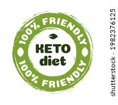 vector keto diet nutrition... | Shutterstock .eps vector #1982376125
