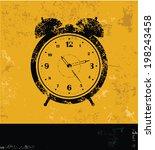 apple symbol grunge design | Shutterstock .eps vector #198243458