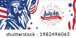 happy july 4th  independence... | Shutterstock .eps vector #1982496065