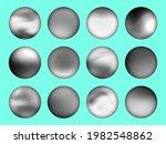 black and white gradient set...