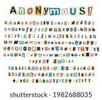 anonymous color criminal... | Shutterstock .eps vector #1982688035