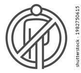 racial discrimination square... | Shutterstock .eps vector #1982750615