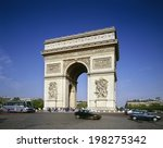 an image of triumphal arch | Shutterstock . vector #198275342