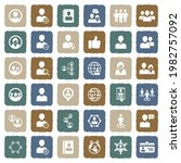 user icons. grunge color flat...