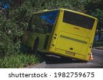 The Bus Flew Off The Road And...