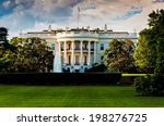 The White House On A Beautiful...
