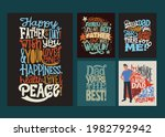 four cards for the holiday...   Shutterstock .eps vector #1982792942