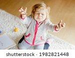 Sad Crying Toddler Girl...