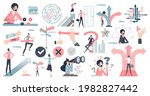decisions  doubt  dilemma or...   Shutterstock .eps vector #1982827442