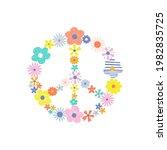 bloomy pacific sign vector... | Shutterstock .eps vector #1982835725