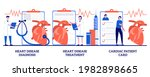 heart disease diagnosis and...   Shutterstock .eps vector #1982898665