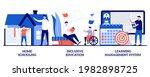 homeschooling  inclusive... | Shutterstock .eps vector #1982898725