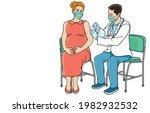 women  pregnant women  elderly... | Shutterstock .eps vector #1982932532