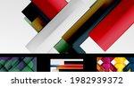 vector geometric wallpaper...   Shutterstock .eps vector #1982939372