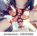 summer holidays and teenage... | Shutterstock . vector #198294086