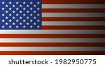 us american flag background... | Shutterstock .eps vector #1982950775