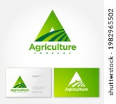 agriculture company logo. a... | Shutterstock .eps vector #1982965502