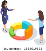 visualize with business... | Shutterstock .eps vector #1983019838