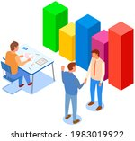 visualize with business... | Shutterstock .eps vector #1983019922