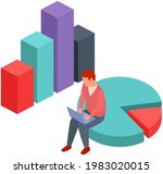 visualize with business... | Shutterstock .eps vector #1983020015
