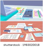 visualize with business... | Shutterstock .eps vector #1983020018