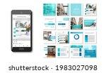 social media puzzle template...   Shutterstock .eps vector #1983027098
