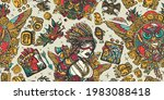native american indian.... | Shutterstock .eps vector #1983088418