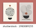 abstract contemporary aesthetic ... | Shutterstock .eps vector #1983089255