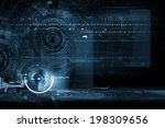 background conceptual image of... | Shutterstock . vector #198309656