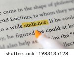 close up of book page with the...   Shutterstock . vector #1983135128