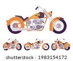 chopper custom fire decor... | Shutterstock .eps vector #1983154172