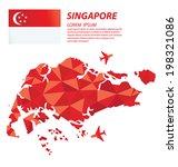 singapore geometric concept... | Shutterstock .eps vector #198321086