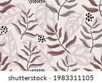 seamless pattern with abstract...   Shutterstock .eps vector #1983311105