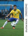 Постер, плакат: Neymar of Brazil in