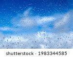 Rain Drops On The Glass....