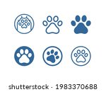 dog  cat paw line icon... | Shutterstock .eps vector #1983370688