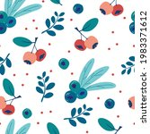 seamless pattern with...   Shutterstock .eps vector #1983371612