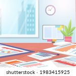 visualize with business... | Shutterstock .eps vector #1983415925
