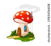 Fairy Mushroom House Or Gnome...