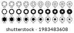 camera aperture icon set  lens... | Shutterstock .eps vector #1983483608