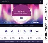 website template for your... | Shutterstock .eps vector #1983486512
