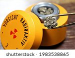 Radioactive Material In Lead...