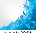 vector abstract background | Shutterstock .eps vector #198361946