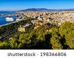 Aerial View Of Malaga ...