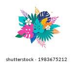 summer time fun concept design. ... | Shutterstock .eps vector #1983675212