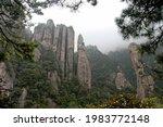 Sanqingshan Mountain In Jiangxi ...